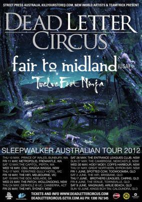 Dead Letter Circus - Sleepwalker Tour