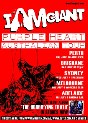 I Am Giant - Purple Heart Tour
